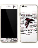Atlanta Falcons White Blast iPhone 6/6s Skin