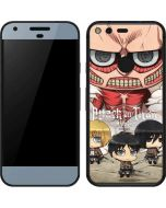 Attack On Titan Clouds Google Pixel Skin