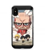 Attack On Titan Clouds iPhone XS Max Cargo Case