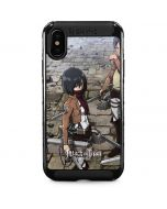 Attack On Titan Destroyed iPhone XS Max Cargo Case