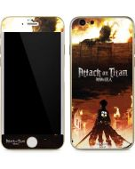 Attack On Titan Fire iPhone 6/6s Skin