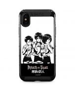 Attack On Titan Posse iPhone XS Max Cargo Case