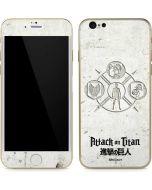 Attack On Titan Wall iPhone 6/6s Skin