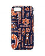 Auburn Pattern Print iPhone 8 Pro Case