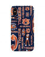 Auburn Pattern Print iPhone XS Max Lite Case