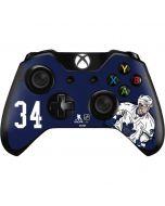 Auston Matthews #34 Action Sketch Xbox One Controller Skin