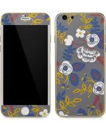 Autumn Grey Floral iPhone 6/6s Skin