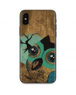 Autumn Owl iPhone X Skin