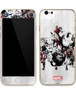 Avengers Action Sketch iPhone 6/6s Skin