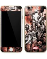 Avengers Assemble Sketch iPhone 6/6s Skin