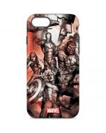 Avengers Assemble Sketch iPhone 8 Pro Case