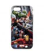 Avengers Team Power Up iPhone 8 Pro Case