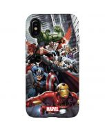 Avengers Team Power Up iPhone XS Pro Case