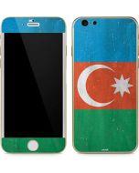 Azerbaijan Flag Distressed iPhone 6/6s Skin