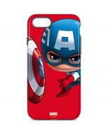 Baby Captain America iPhone 8 Pro Case
