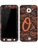 Baltimore Orioles - Cap Logo Blast Galaxy S6 Edge Skin