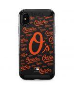 Baltimore Orioles - Cap Logo Blast iPhone XS Max Cargo Case