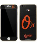 Baltimore Orioles - Solid Distressed iPhone 6/6s Skin