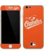 Baltimore Orioles Monotone iPhone 6/6s Skin
