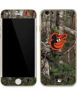 Baltimore Orioles Realtree Xtra Green Camo iPhone 6/6s Skin