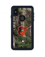 Baltimore Orioles Realtree Xtra Green Camo iPhone XS Waterproof Case
