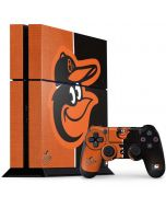 Baltimore Orioles Split PS4 Console and Controller Bundle Skin