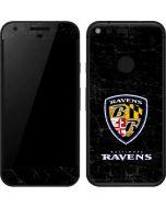 Baltimore Ravens - Alternate Distressed Google Pixel Skin