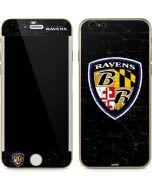 Baltimore Ravens - Alternate Distressed iPhone 6/6s Skin