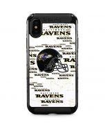 Baltimore Ravens - Blast iPhone XS Max Cargo Case