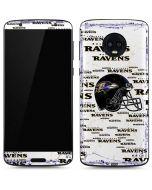 Baltimore Ravens - Blast Moto G6 Skin