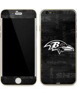Baltimore Ravens Black & White iPhone 6/6s Skin