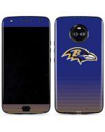 Baltimore Ravens Breakaway Moto X4 Skin