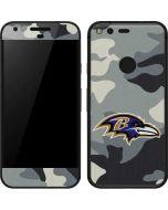 Baltimore Ravens Camo Google Pixel Skin