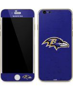 Baltimore Ravens Distressed iPhone 6/6s Skin