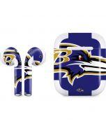 Baltimore Ravens Large Logo Apple AirPods 2 Skin