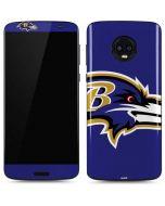 Baltimore Ravens Large Logo Moto G6 Skin