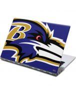 Baltimore Ravens Large Logo Yoga 910 2-in-1 14in Touch-Screen Skin