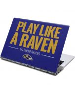 Baltimore Ravens Team Motto Yoga 910 2-in-1 14in Touch-Screen Skin