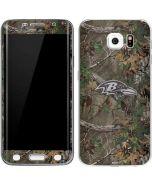 Baltimore Ravens Realtree Xtra Green Camo Galaxy S6 Edge Skin