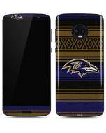 Baltimore Ravens Trailblazer Moto G6 Skin