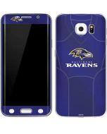 Baltimore Ravens Team Jersey Galaxy S6 Edge Skin