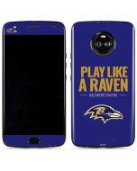 Baltimore Ravens Team Motto Moto X4 Skin