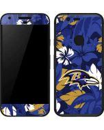 Baltimore Ravens Tropical Print Google Pixel Skin