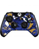 Baltimore Ravens Tropical Print Xbox One Controller Skin