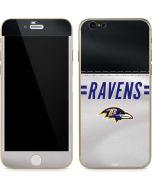 Baltimore Ravens White Striped iPhone 6/6s Skin
