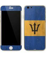 Barbados Flag Distressed iPhone 6/6s Skin