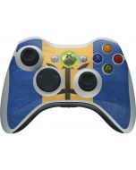 Barbados Flag Distressed Xbox 360 Wireless Controller Skin