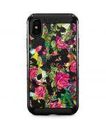 Baroque Roses iPhone X Cargo Case