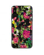 Baroque Roses iPhone X Skin