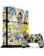 Batgirl All Over Print PS4 Console and Controller Bundle Skin